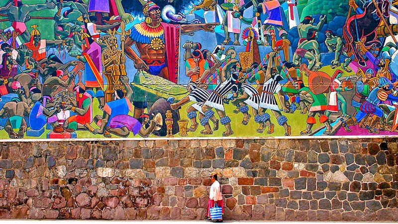 a history of incas empire in peru