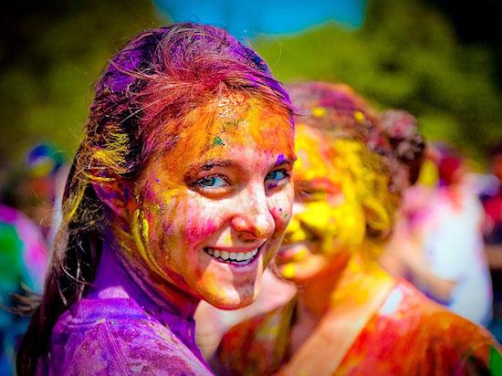 Холи или праздник красок в Индии_1