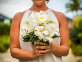 Свадебная церемония в отеле Raffles Praslin Seychelles
