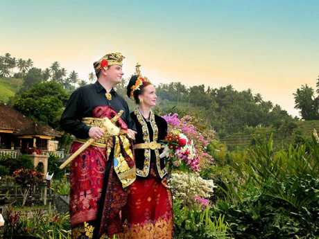 Традиционная балийская свадьба