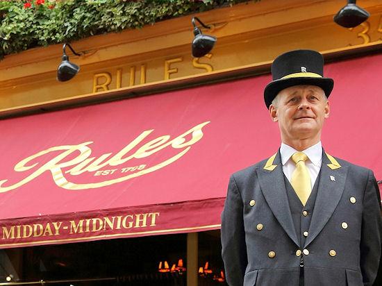 Rules, Лондон