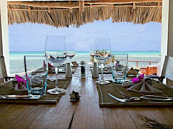 Rock Restaurant, Занзибар
